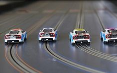 Best Slot Car Sets for at-home fun! Funny Videos, Car Videos, Kids Videos, Slot Car Racing, Slot Car Tracks, Jack O'connell, Game Background, Mini Pizzas, Las Vegas