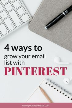 Grow your email list with these 4 easy to apply marketing tips and strategies. Email Marketing, Content Marketing, Affiliate Marketing, Social Media Marketing, Business Marketing, Marketing Strategies, Likes Facebook, Internet, Pinterest For Business