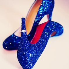 I'm just saying, since we're all in red and The Wizard of Oz is your favorite...you should have these in red