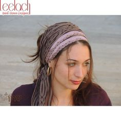 Stunning Pink & Brown Half Headcovering-Tichel was Designed by Sara Attali. The tichel is made from gorgeous fabrics to give the tichel a co...