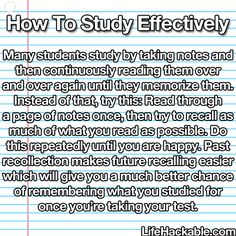 Who doesn't love or need a study hack