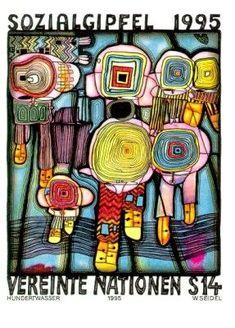 Friedenreich Hundertwasser (1928-2000).Peintre, architecte, écologiste. - Webmômes Ze Blog