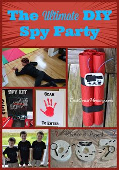 East Coast Mommy: Party Planning (DIY parties, decor, games, food, cakes, and favours)