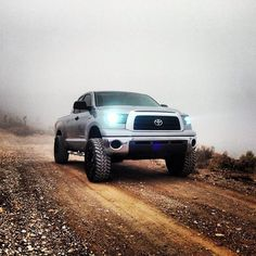 One #beefy looking #Tundra!