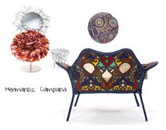 Campana by albaperezvte on Polyvore featuring interior, interiors, interior design, hogar, home decor, interior decorating, Alessi and Nodus