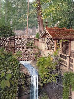 Nature Views -England - Shanklin Chine, The waterfall on the Isle of Wright. ( A blessing to own this lil house. Places Around The World, Oh The Places You'll Go, Places To Travel, Places To Visit, Around The Worlds, Nature View, All Nature, Isle Of Wright, Isle Of Wight England