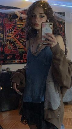 Neue Outfits, Edgy Outfits, Grunge Outfits, Pretty Outfits, Cool Outfits, Summer Outfits, Fashion Outfits, Grunge Dress, Mode Indie