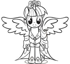 princess twilight sparkle coloring page - 1000 images about princess twilight sparkle my little