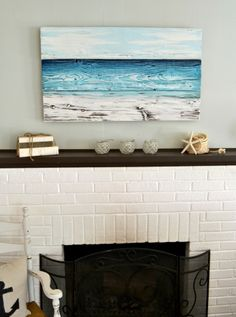 Ocean-Inspired Original Painting