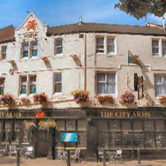 The City Arms in Cardiff, Wales