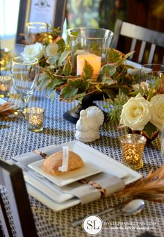Exquisite Fall Thanksgiving Tablescape Ideas with @Stephanie Lynn