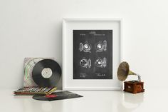 Camera Shutter Patent Poster Photographer Gift by PatentPrints