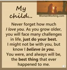 Trendy birthday quotes for son mothers love children My Son Quotes, My Children Quotes, Mother Daughter Quotes, Mommy Quotes, Mother Quotes, Quotes For Kids, Family Quotes, I Love My Children, Proud Of You Quotes Daughter