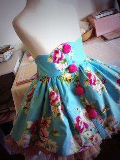 Gracie Lou skirt #handmade #girls #clothing
