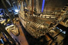Famed 17th Century Warship   The a 17th century Vasa warship, which was raised nearly intact from Stockholm's harbor, has become one of the country's top tourist attractions.