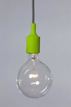 Color Cord Pendant Light Lime Green Socket by IndLights on Etsy Color Of The Year 2017 Pantone, Pantone Color, All The Colors, Green Colors, Verde Greenery, Pantone Greenery, Spring Green, One Light, Shades Of Green