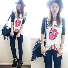 Agata P - Stylemoi Top, Stylemoi Flash Tattoos, Jeans - We All Need Someone We Can Bleed On