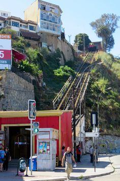 Funicular - one of 15 in the city