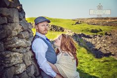 How beautiful is this couple with the rolling hills of Inis Mor, Ireland behind them??!!    https://www.facebook.com/KenneyPhoto
