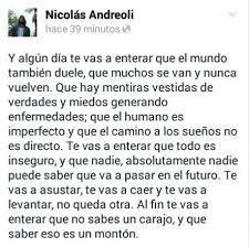 Resultado de imagen para Hagamos del amor de Nicolás Andreoli