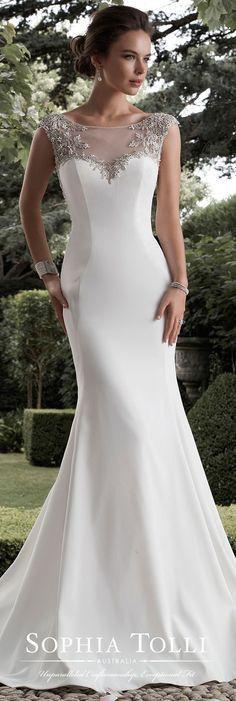 Un vestido de novia perfecto!
