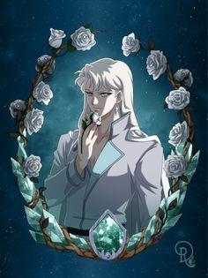 Kunzite by Drachea Rannak Sailor Moon Fan Art, Sailor Moon Manga, Sailor Moon Crystal, Hot Anime, Manga Anime, Sailor Jupiter, Sailor Venus, Sailor Moon Villains, Sailer Moon