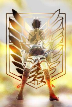 Eren Jaeger - Attack on Titan (Shingeki no Kyojin)