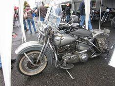 OldMotoDude: 1946 Harley Davidson on display at the 2013 Retro ...
