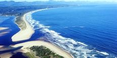Aerial View of Lookout and Keurbooms Beaches Aerial View, South Africa, Beaches, Water, Outdoor, Water Water, Aqua, Outdoors, Outdoor Games