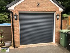 Our garage door installation cost includes expert measuring, fitting & VAT. With a new roller shutter you can improve your garage's style and thermal efficiency. Click the link below to see our roller garage doors for sale. Small Garage Door, Grey Garage Doors, Garage Doors For Sale, Single Garage Door, Sliding Garage Doors, Electric Garage Doors, Garage Door Design, Garage Walls, Roller Doors