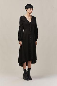 ZINNIA DRESS BLACK