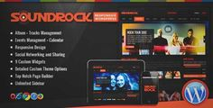 Download and review of Sound Rock - Music Band Wordpress Theme, one of the best Themeforest Entertainment themes {Download & review at|Review and download at} {|-> }http://best-wordpress-theme.net/sound-rock-music-band-download-review/