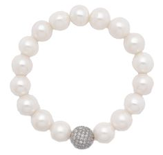 ON SALE $129.99 Pearl Lustre Sterling Silver Freshwater Pearl Stretch Bracelet!  theshoppingchannel.com