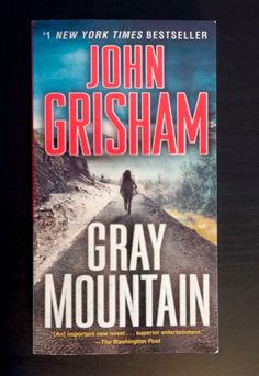 John Grisham Gray Mountain Paperback Softcover Book 2015 Legal Mystery Thriller in Books, Fiction & Literature | eBay