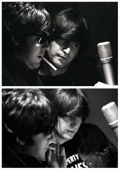 Paul McCartney and John Lennon, I am amazed that one of the guys hasn't died from lung cancer.