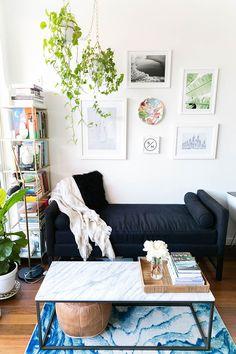 Sarah Schiear's Brooklyn Apartment Tour #theeverygirl