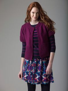 Knit Pattern: Level 1 Knit Cardigan