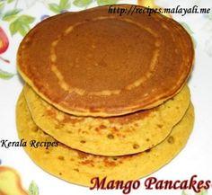 Mango Pancakes DEsayuno a probar