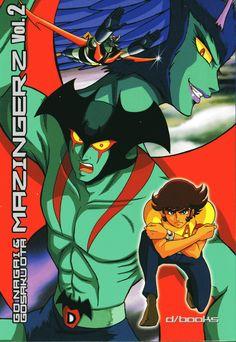 Mazinger Z Vol.2 by Go Nagai - Gosaku Ota (Kazuhiro Ochi cover)
