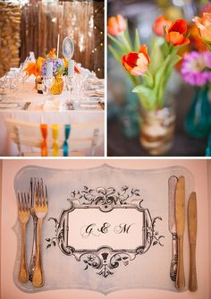 colourful wedding | Charlene Schreuder #wedding