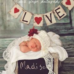 My cousin's baby announcement! Adorable!