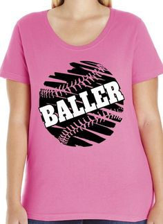 0f9124c25 Baller baseball t-shirt design idea and template. Personalize athletic tees  online. Baseball