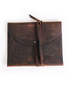 leather folio by boutonné