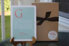 ABC Scripture Cards - Gold | Lil Light O' Mine