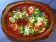 Russian Trays from Zhostovo