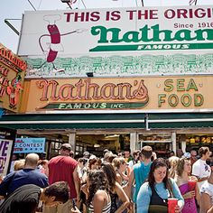 Coney Island is famous for its carnival atmosphere – and what screams carnival more than a hot dog? Nathan's Famous hot dogs is a must.