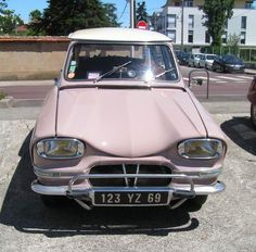 Citroën Ami6 1962
