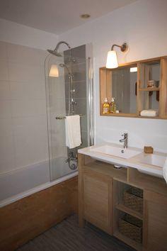 Plan de travail dans une salle de bain d co apparte pinterest - M6 deco salle de bain ...