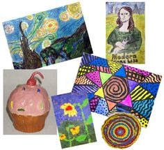 Mrs. Brown's Art Class - This website has tons of lesson plans, art projects, and a list of activities that students can do in the art room when they are finished with their art projects.