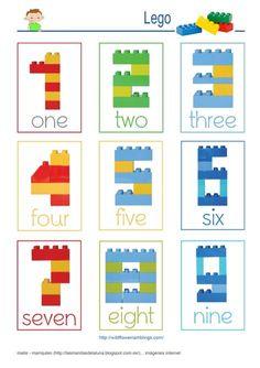 LEGO - Grundkonstruktionen, - New Ideas 2d Shapes Activities, Toddler Activities, Preschool Activities, Kids Printable Activities, Dinosaur Activities, Lego Kindergarten, Preschool Learning, Teaching, Lego Girls